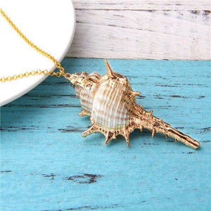 Triton Shell Necklace I.