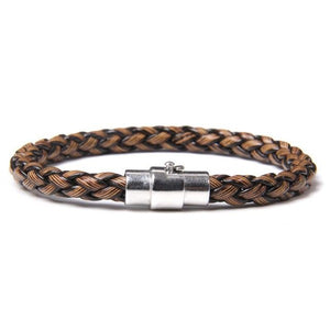 Braided Brown Bamboo Bracelet