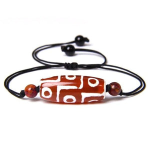 Brown Gemstone Bead Bracelet