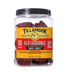 Silver Dollar Beef Jerky | Old Fashioned