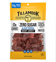 Zero Sugar Beef Jerky | Black Pepper