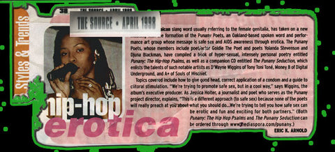 The Punany Poets in The Source Magazine 1998