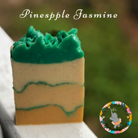 Pineapple Jasmine Handmade Vegan Soap