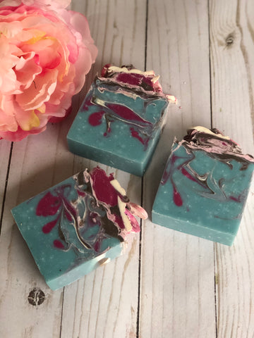 Japanese Cherry Blossom Handmade Vegan Soap
