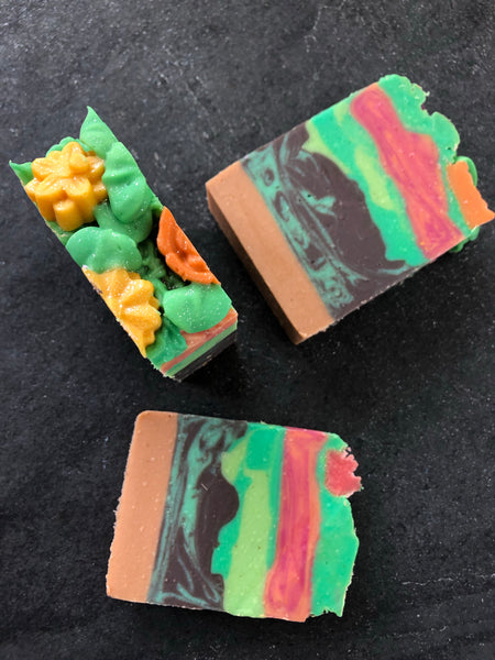Mom's Flower Garden Handmade Vegan Soap