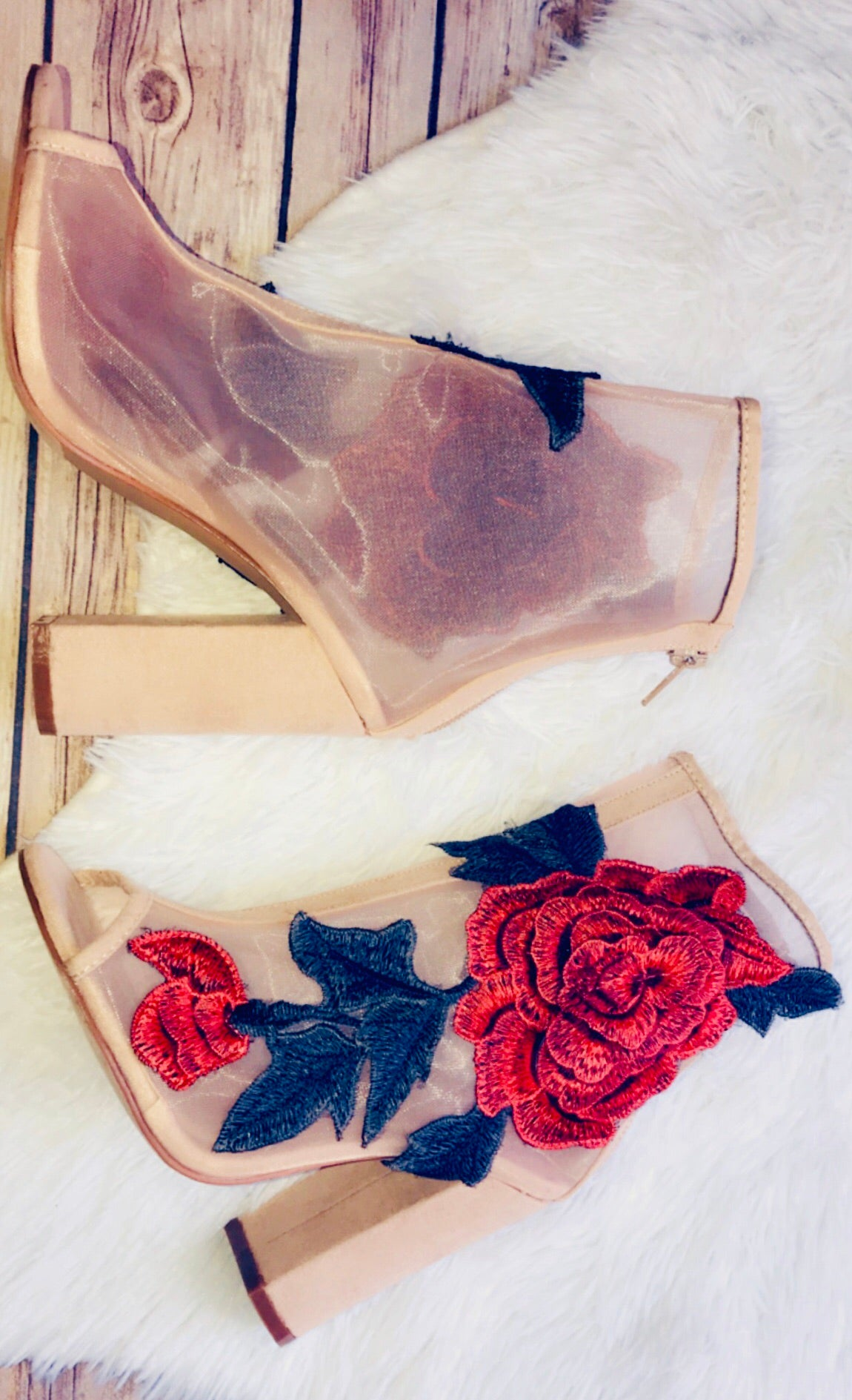 """Anastasia"" Booties"