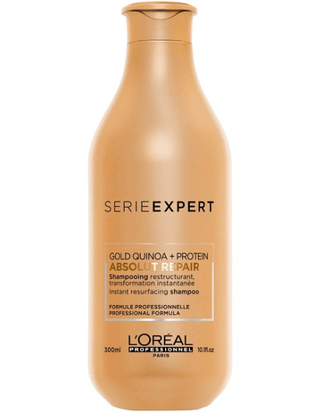 LP LOREAL SERIE EXPERT ABSOLUT REPAIR GOLD SHAMPOO 300 ML. - El Palacio De La Belleza