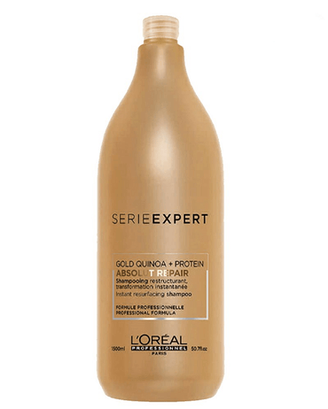 LP LOREAL SERIE EXPERT ABSOLUT REPAIR GOLD SHAMPOO 1500 ML. - El Palacio De La Belleza