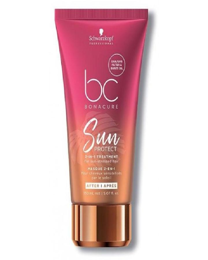 SCHWARZKOPF BC HAIRTHERAPY SUN PROTECT MASK 150 ML. - El Palacio De La Belleza