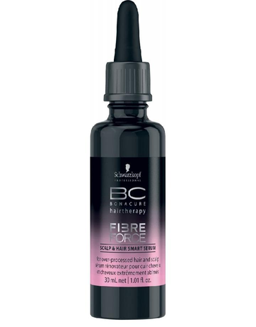 SCHWARZKOPF BC FIBRE FORCE SCALP & HAIR SMART SERUM 30 ML. - El Palacio De La Belleza