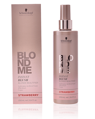 SCHWARZKOPF BLONDME INSTANT BLUSH 250 ML. STRAWBERRY - El Palacio De La Belleza