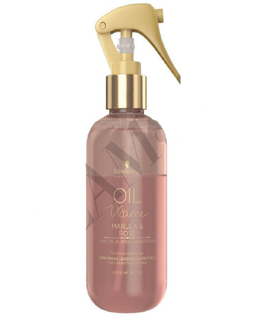 SCHWARZKOPF NUEVO OIL ULTIME MARULA & ROSE SPRAY CONDITIONER 200 ML - El Palacio De La Belleza