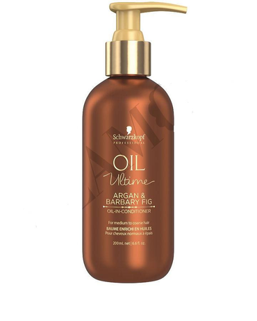 SCHWARZKOPF NUEVO OIL ULTIME ARGAN & BARBARY FIG CONDITIONER 200 ML. - El Palacio De La Belleza
