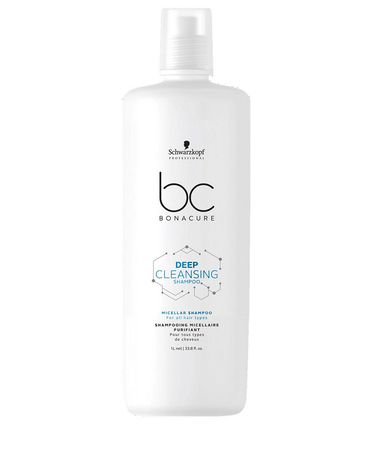 SCHWARZKOPF BC DEEP CLEASING SHAMPOO 1000 ML.