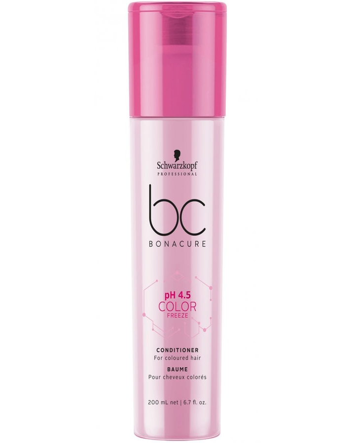 SCHWARZKOPF NUEVO BC PH 4.5 COLOR FREEZE CONDITIONER 200 ML. - El Palacio De La Belleza