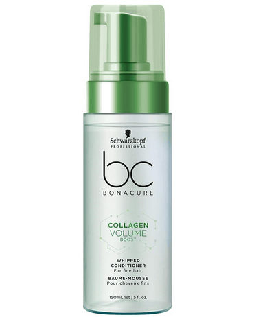 SCHWARZKOPF NUEVO BC COLLAGEN VOLUME BOOST CONDITIONER FOAM 150 ML. - El Palacio De La Belleza