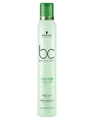 SCHWARZKOPF NUEVO BC COLLAGEN VOLUME BOOST PERFECT FOAM 200 ML. - El Palacio De La Belleza