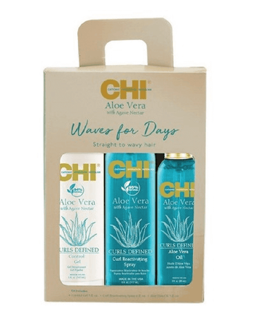 CHI ALOE VERA WAVE FOR DAYS KIT TRIO PM8499