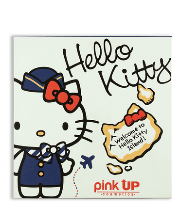 PINK UP PALETA BLANCA HELLO KITTY PKP42
