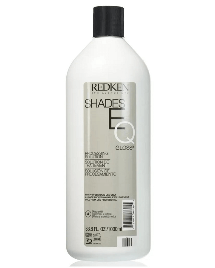 REDKEN SHADES EQ GLOSS PROCESSING SOLUTION 1000 ML.