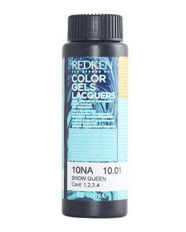 REDKEN COLOR GELS LACQUERS 10NA SNOW QUEEN