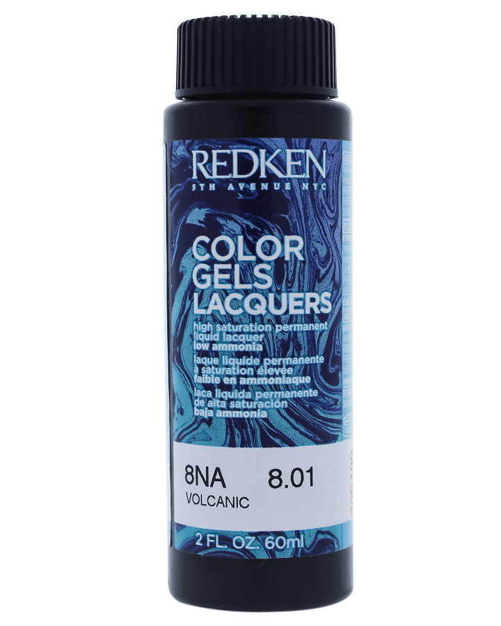REDKEN COLOR GELS LACQUERS 8NA VOLCANIC