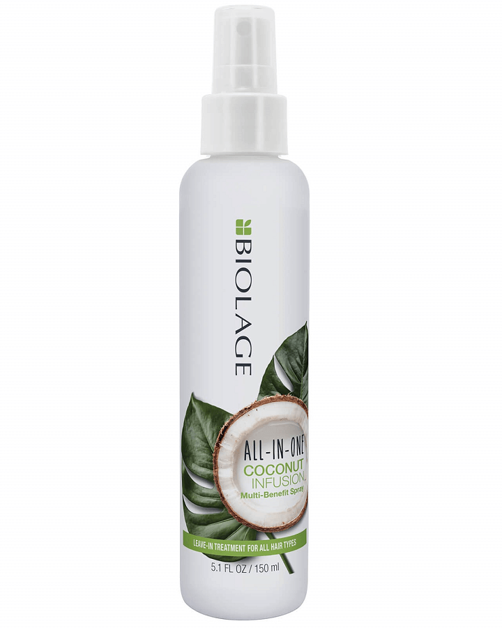 MATRIX BIOLAGE COCONUT INFUSION ALL-IN-ONE 150 ML. - El Palacio De La Belleza