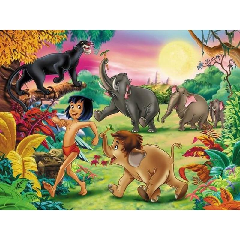 Jungle Book | Diamond Painting - Myth Of Asia