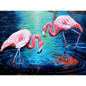 Flamingo | Diamond Painting - Myth Of Asia