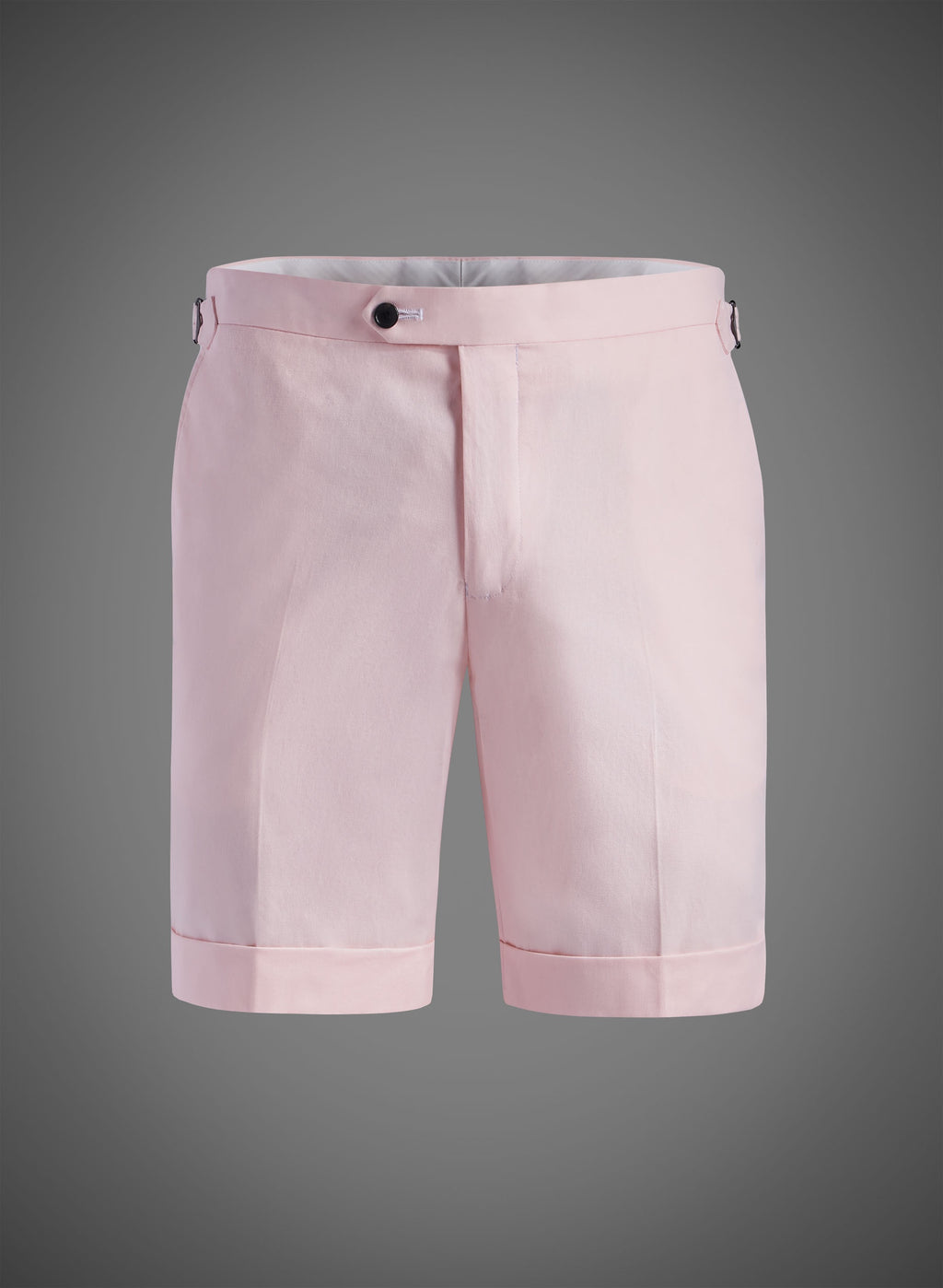 Fitted Short With Side Tabs & Cuffed Hem- Pink (JBW007S)
