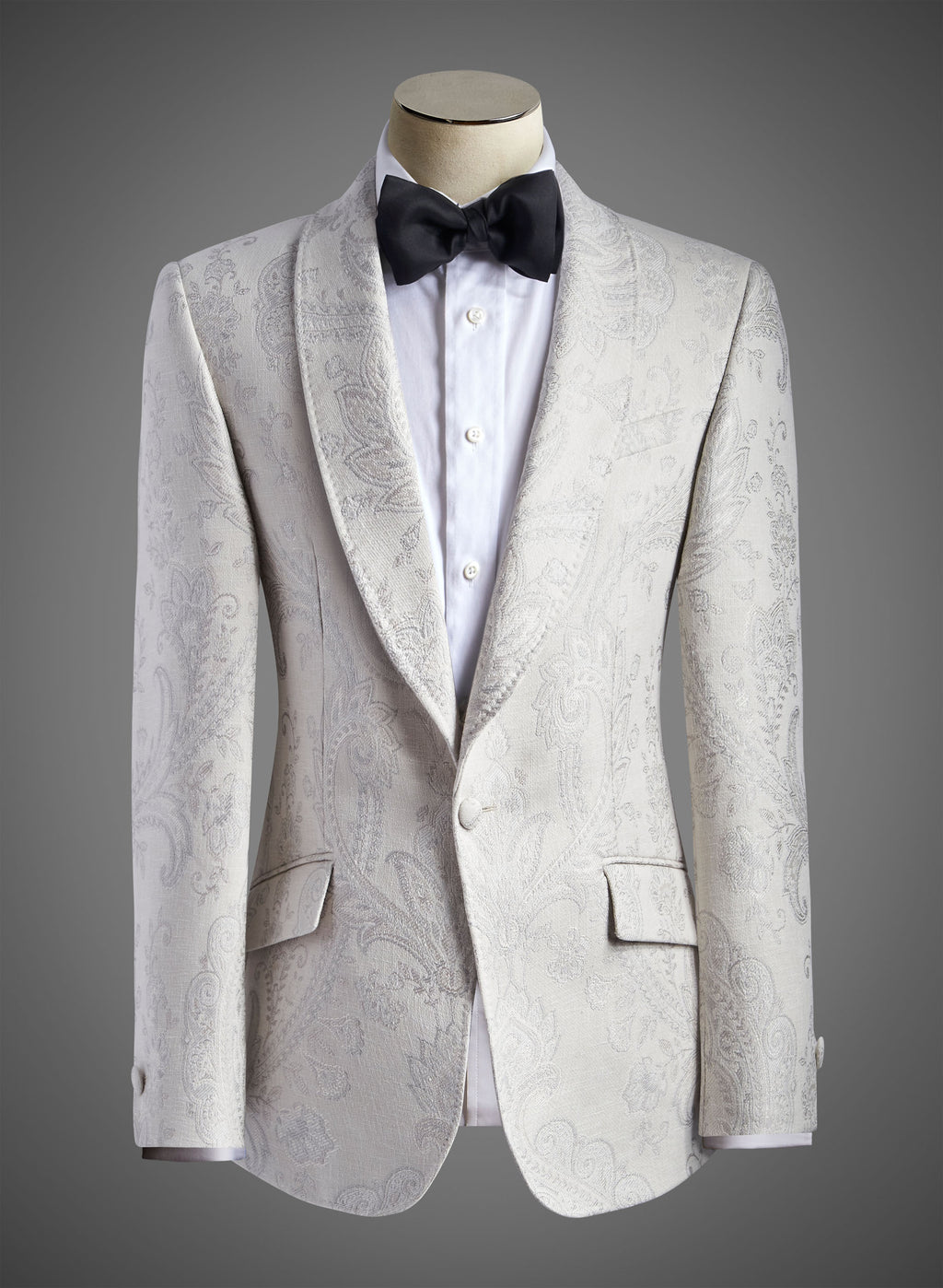 BW SIGNATURE JACKET - Satin Shawl Lapel  (Songbook Col 01 RS)