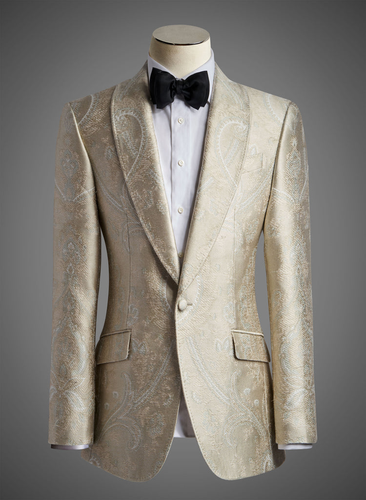 Designer Jacket in Laurel with Shawl Lapel