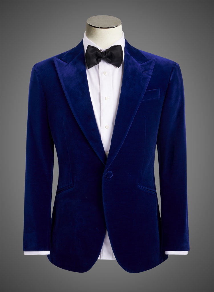 BW SIGNATURE JACKET - Electric Blue Velvet (DDD1922)