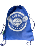 DANTDM Logo Drawstring Bag from Recycled Material