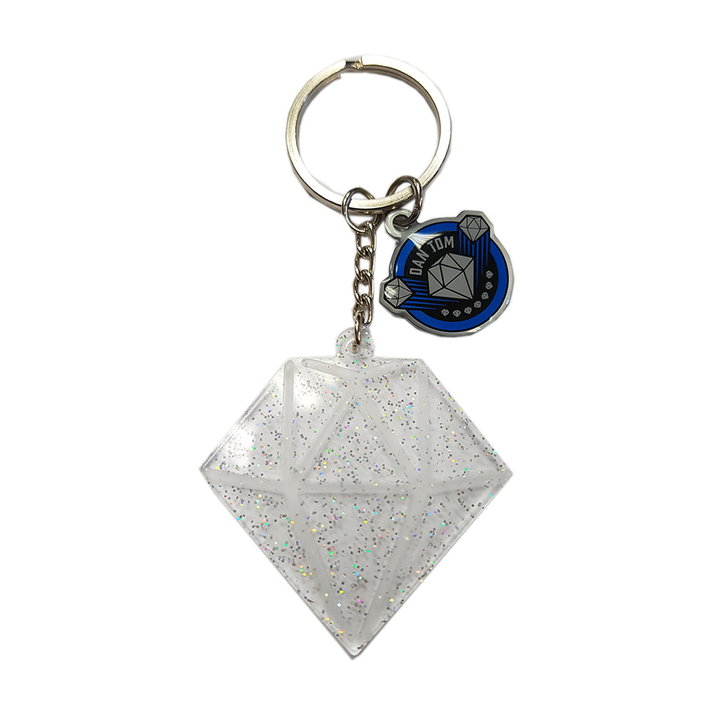 DanTDM Diamond Keyring