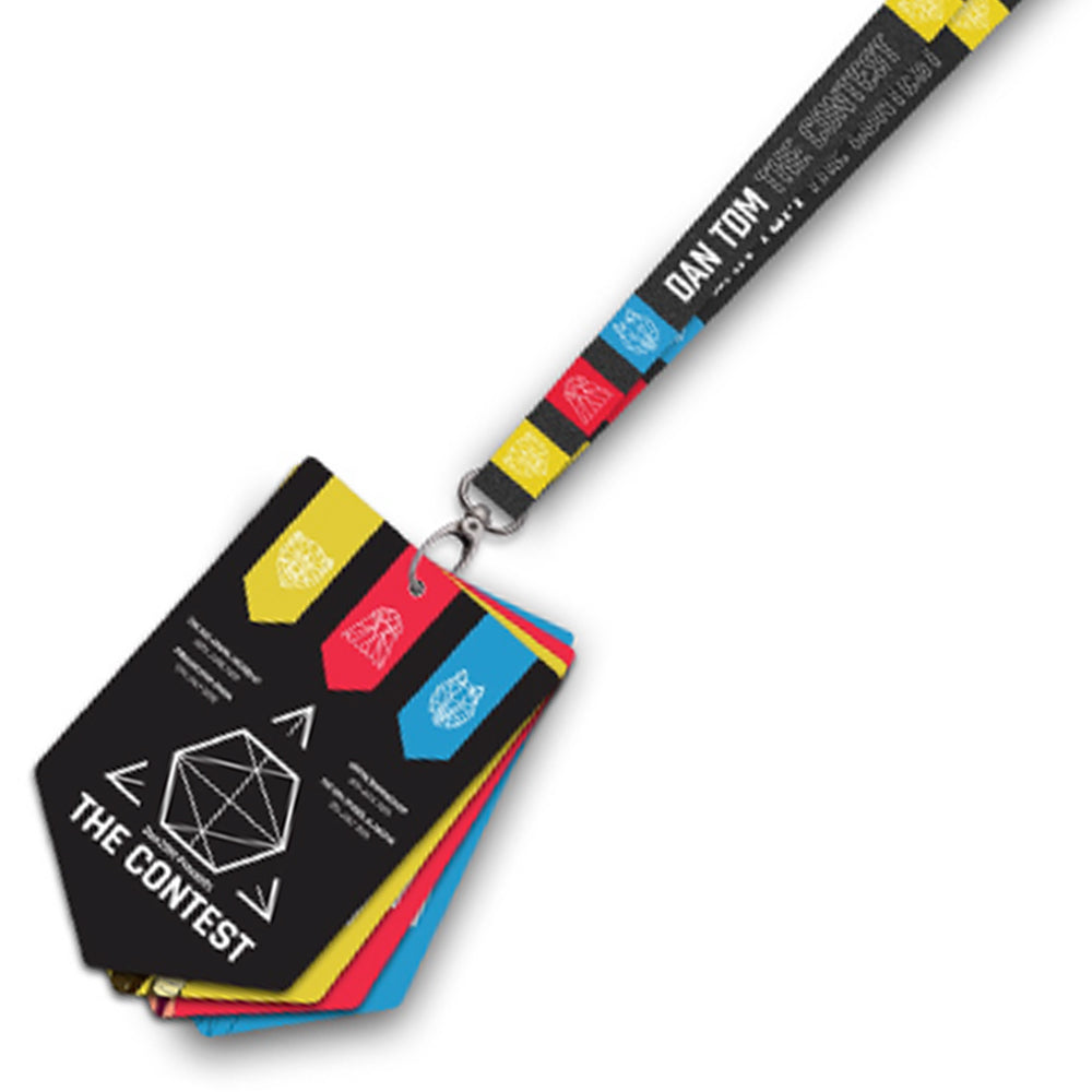 DanTDM The Contest Lanyard