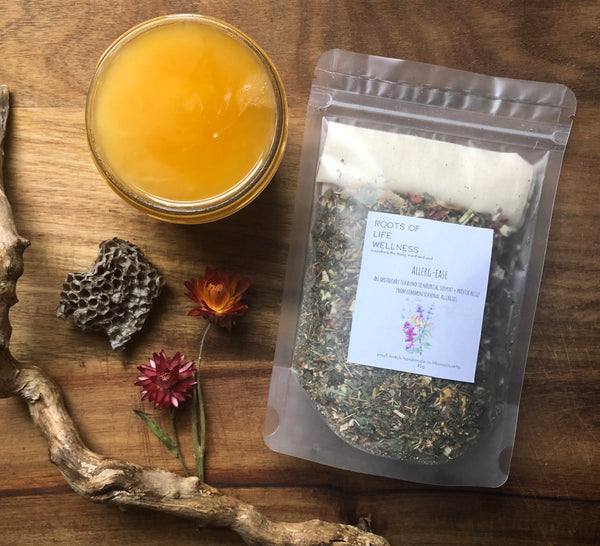 allerg-ease / an apothecary tea blend to nourish, support + provide relief from common seasonal allergies