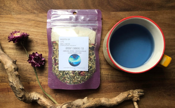 aurora's immuni-TEA / a nourishing, soothing + comforting apothecary tea blend for immune support