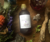 wild violet syrup / limited 2020 stock | botanically infused | nourishes + comforts the heart