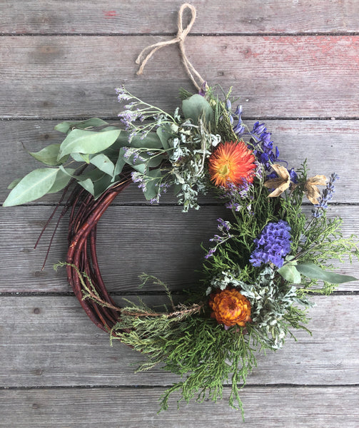 botanical wreath / a sacred + wild adornment for the home