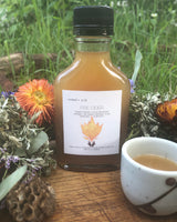 fire cider / a traditional folk remedy | an herbal infused oxymel formulated to help boost + support the immune system
