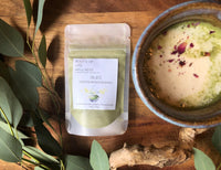 zen latte / a nourishing adaptogenic matcha blend