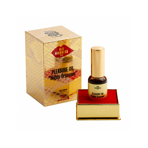 Her Highness Pleasure Oil for better orgasms intimate oil