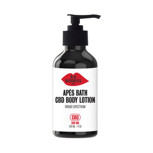 Apres Bath - CBD Body Lotion