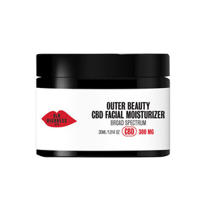 Outer Beauty: CBD Facial Moisturizer