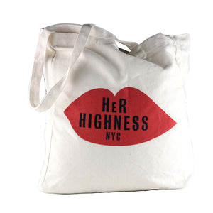 Lit Girl Tote Bag