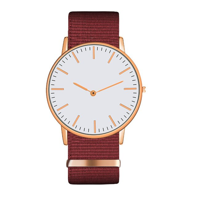 Luxury High Quality Design Golden Monochrome Strap Watch For Woman