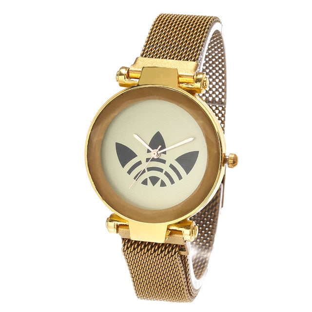 Watches Luxury Brand AD Women Watch Magnet Wteel