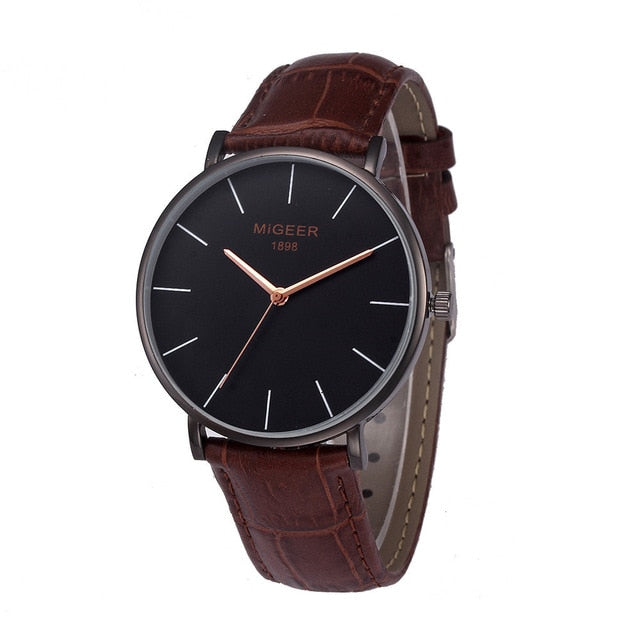 Men Watches Stylish And Simple Temperament Belt Watch