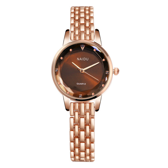 Woman Watch 2020 Hot Sale Fashion  Beautiful Crystal Watch Stainless Steel Watch